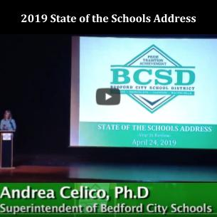 Watch the 2019 State of the Schools Adress