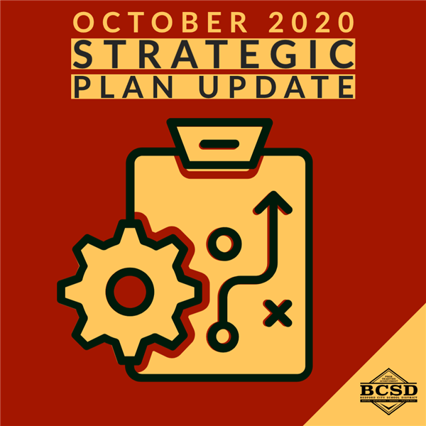 October 2020 Strategic Plan Update