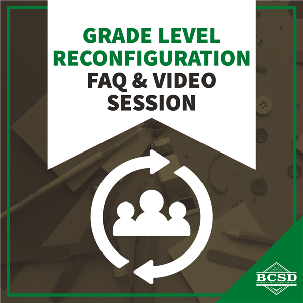 Grade Level Reconfiguration FAQ