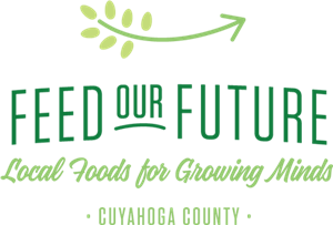 """Feed our Future"" logo, one of nutrition services partners"