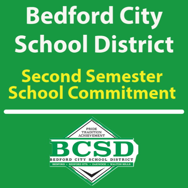 BHS School Commitment - Second Semester