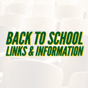 BHS Back to School Links & Information
