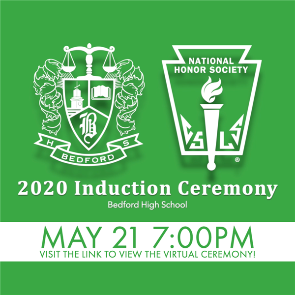 2020 National Honor Society Virtual Induction Ceremony